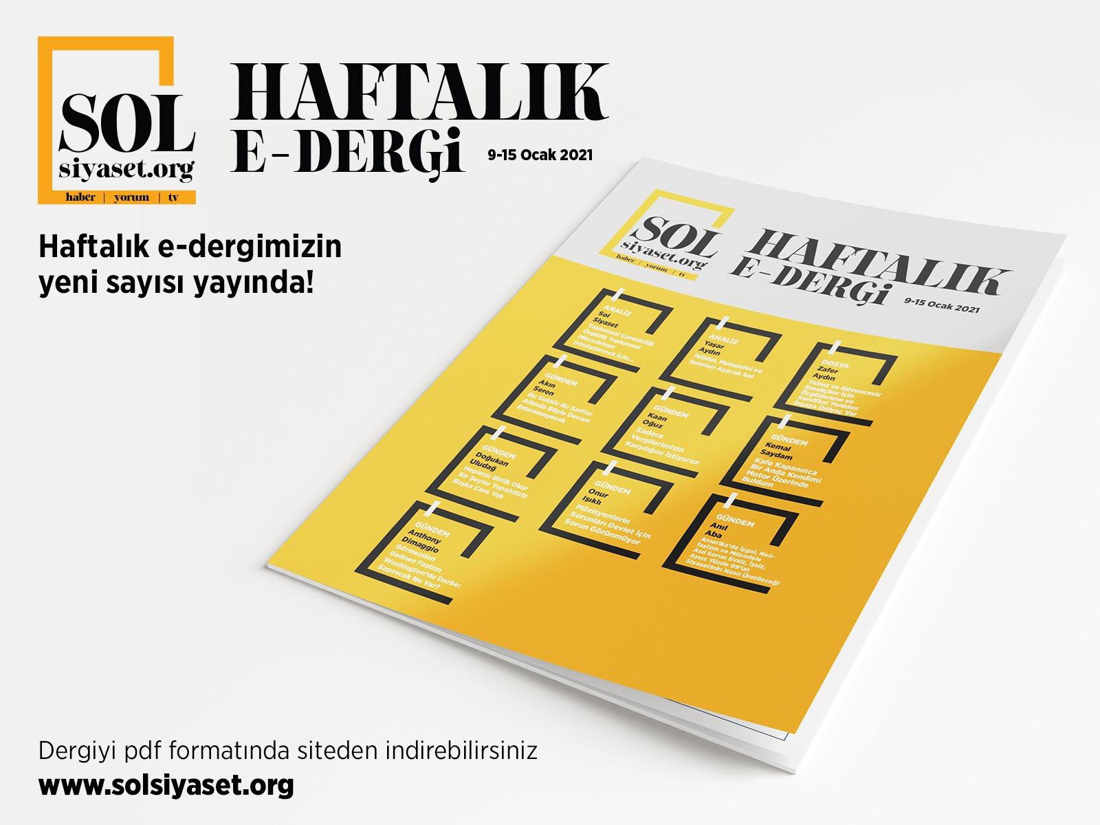 SOL Siyaset Haftalık-Dergi (Sayı:4)