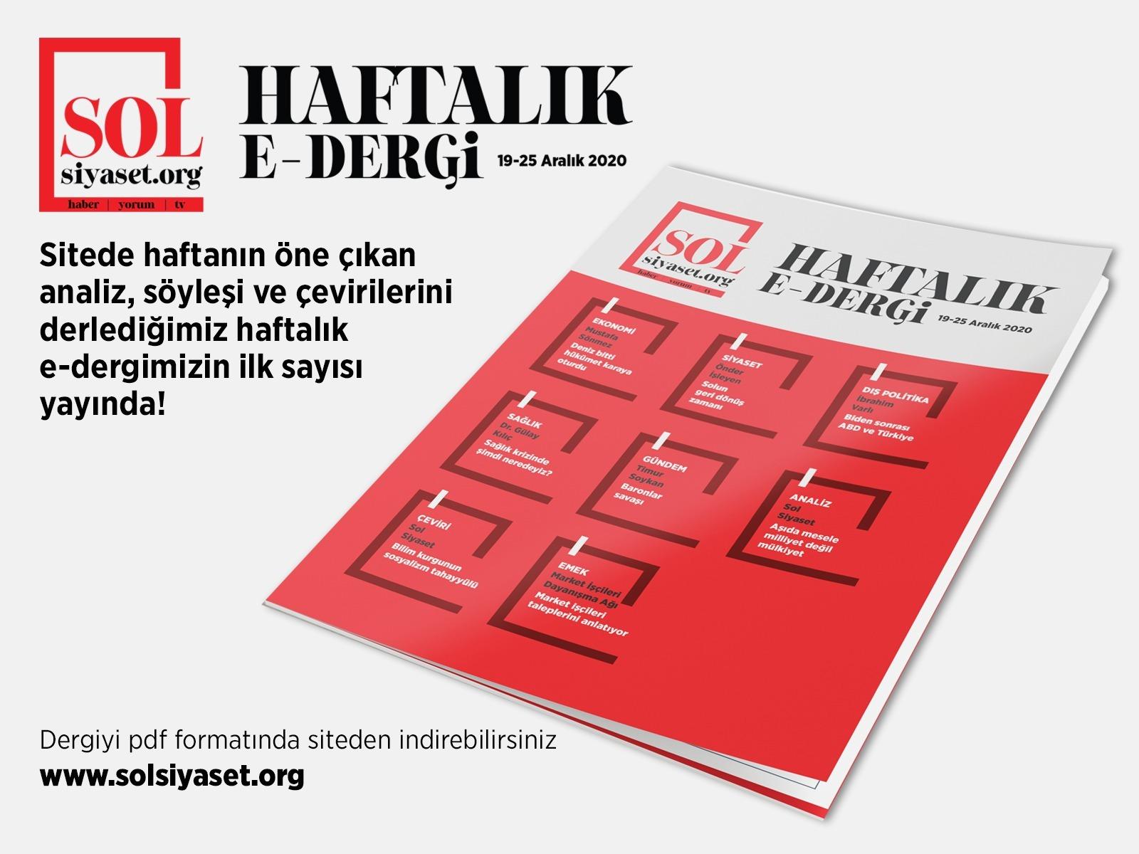 SOL Siyaset Haftalık (E-Dergi – 1)